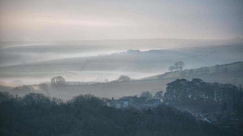 Rain is often followed by a misty morning