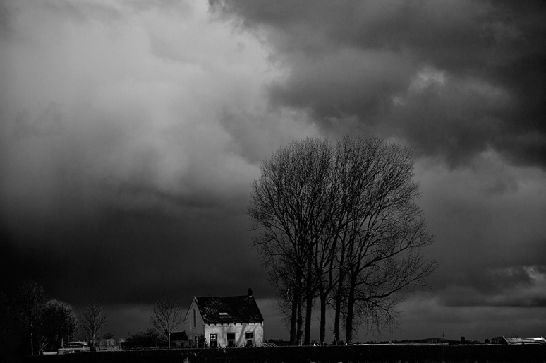 Zeeland-Rainy-evening-skies